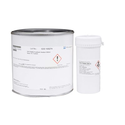 PPG PR1750 B-2 Integral Fuel Tank Sealant 500ml Kit *PPG-AFS-1808 *PPG-DTD900/6092A *Qualified to MIL-S-83430 *AMS 3276