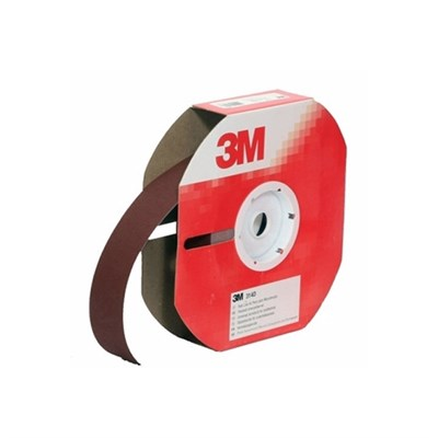 3M 314D Abrasive (Cloth Backed) Red P40 Grit 25mm x 25Mt Roll