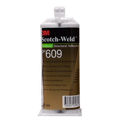 3M Scotch-Weld DP-609 EPX Polyurethane Adhesive 50ml Cartridge