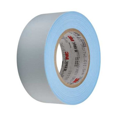 3M 398-FR Flame Retardant Glass Cloth Tape available in various sizes