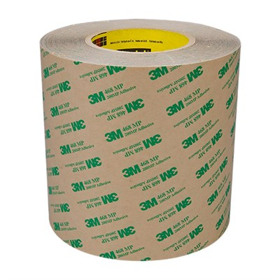 3M 468MP Adhesive Transfer Tape 38mm x 55Mt Roll