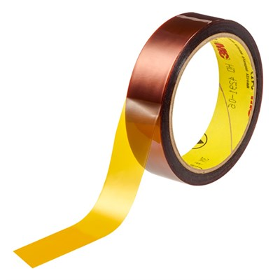 3M 5419 Low Static Polyimide Film Tape Gold 19mm x 33m Roll