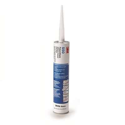 3M 550FC PU Adhesive Sealant White 310ml Cartridge
