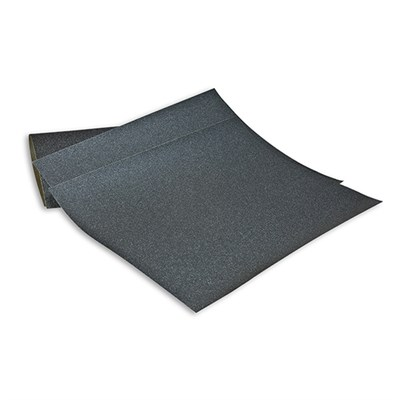 3M 734 Wet or Dry Paper P180 Grit 230mm x 280mm Black (Pack of 50 Sheets)