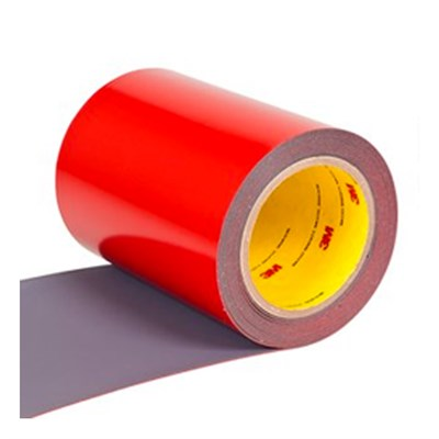 3M 8641 Polyurethane Protective Tape Dark Grey (Perforated, Skip Slit Liner) 24in x 36yd Roll
