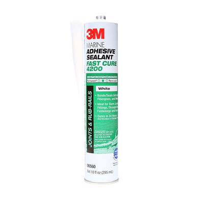 3M 4200 FC Marine Sealant White 310ml Cartridge