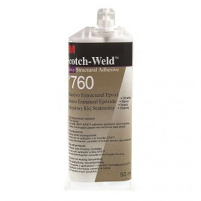 3M Scotch-Weld DP-760 Epoxy Adhesive White 50ml Cartridge