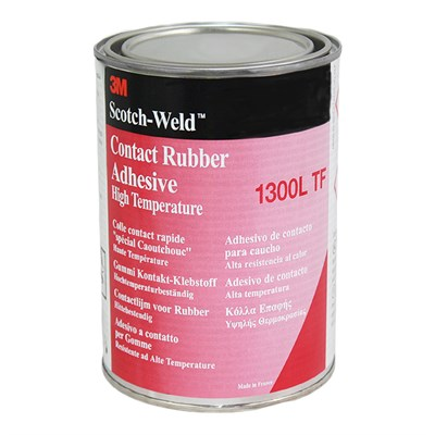 3M Scotch-Weld 1300L Contact Rubber and Gasket Adhesive (Toluene Free) 1Lt Tin