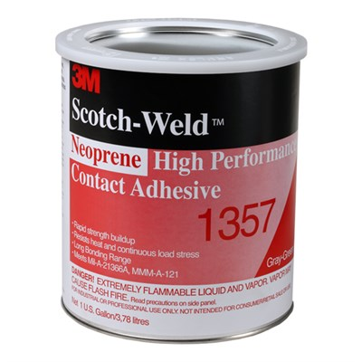 3M Scotch-Weld EC-1357 Neoprene High Performance Contact Adhesive  in various sizes and colours