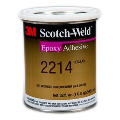 3M Scotch-Weld 2214 Regular Epoxy Adhesive 1USQ Tin (Freezer Storage)