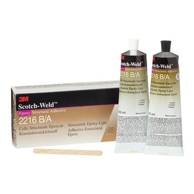 3M Scotch-Weld 2216 B/A Epoxy Adhesive Grey 250ml Twin Tube Kit