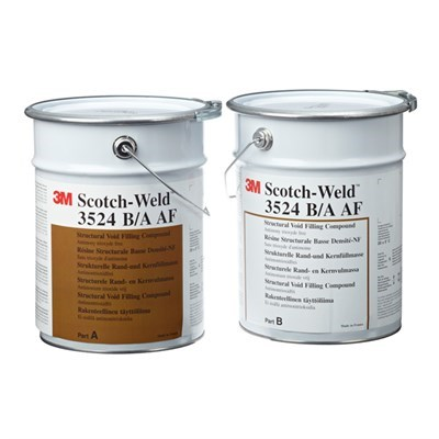 3M Scotch-Weld 3524 B/A AF (Antimony Free) Low Density Void Filler Blue 15Kg Kit *MSRR1002