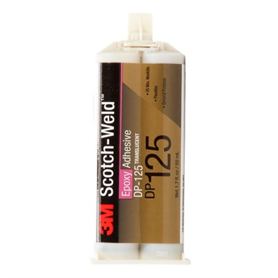 3M Scotch-Weld DP-125 Epoxy Adhesive Grey 400ml Cartridge