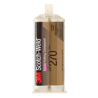 3M Scotch-Weld DP-270 EPX Epoxy Adhesive Black 50ml Cartridge