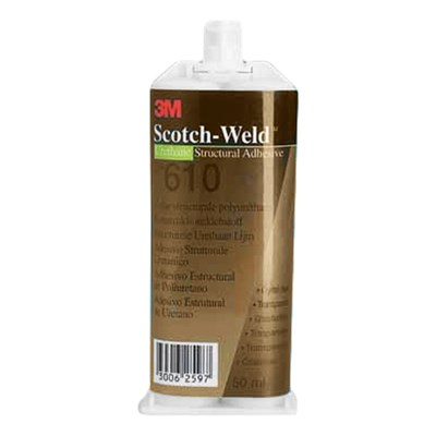 3M Scotch-Weld DP-610 EPX Polyurethane Adhsieve Clear 50ml Cartridge