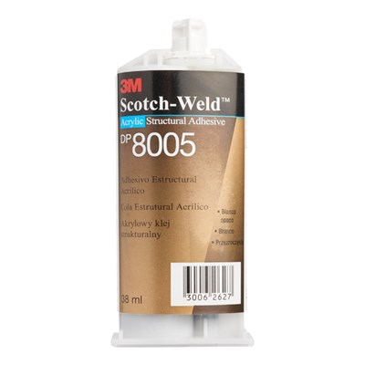 3M Scotch-Weld DP-8005 Liquid Acrylic Adhesive 38ml Cartridge