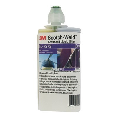 3M Scotch-Weld EC-7272 B/A Advanced Liquid Shim 200ml cartridge