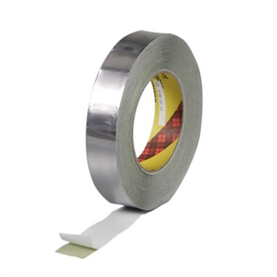 3M 420 Linered Lead Foil Tape 1in x 36yd Roll