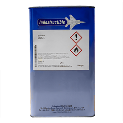 Indestructible Paint IP715 Thinner 5Lt Tin *PWA 36106