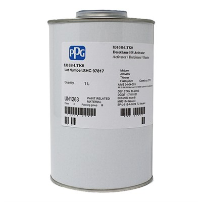 PPG 8310B Activator 1Lt AIMS 04.04.003 BS2X34A/B DEF STAN 80-209/3