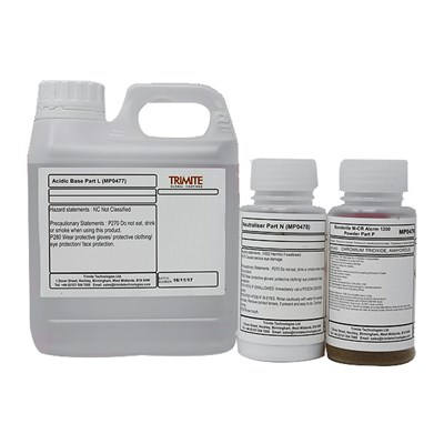Trimite Bonderite M-CR (Prev Alocrom) 1200 Powder Brush Kit 1Kg