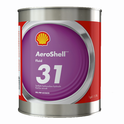 aeroshell fluid 31 aircraft hydraulic fluid 1usg can mil. Black Bedroom Furniture Sets. Home Design Ideas