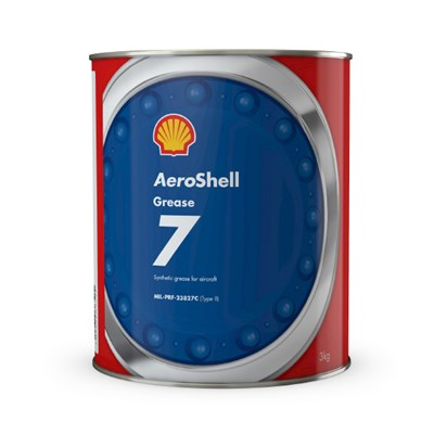 Aeroshell Grease 7 3Kg Can *MIL-PRF-23827C Type II