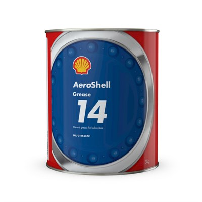 AeroShell Grease 14 3Kg Can *MIL-G-25537C *DEF STAN 91-51