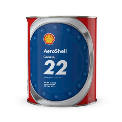 AeroShell Grease 22 3Kg Can *MIL-PRF-81322G *DOD-G-24508A *DEF STAN 91-52 *G-395 *XG-293