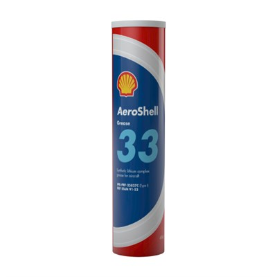 Aeroshell Grease 33 400gm Cartridge *BMS 3-33B *MIL-PRF-23827C Type 1