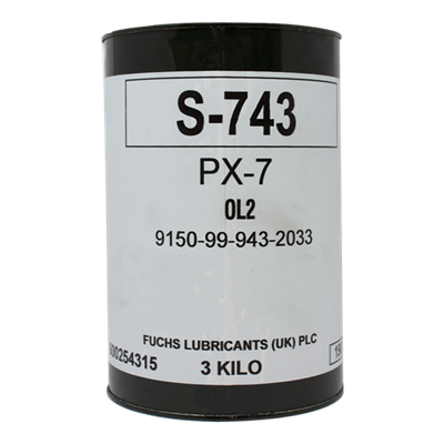 PX-7 (S-743) Soft Petrolatum Technical 3Kg Can *DEF STAN 91-38/2