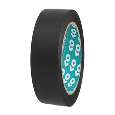 Advance Tapes AT180 Black Waterproof Cloth Tape 50mm x 50Mt Roll