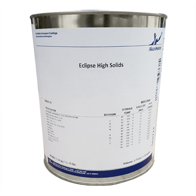 Akzo Eclipse ECL-G-101 (BAC707) Gloss Grey Polyurethane Topcoat 1USG Can *BMS10-72 Type IX