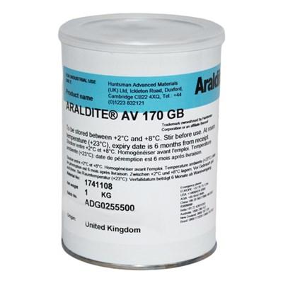 Araldite AV170 One Component Structural Adhesive 1Kg Can (Fridge Storage  2°C-8°C)