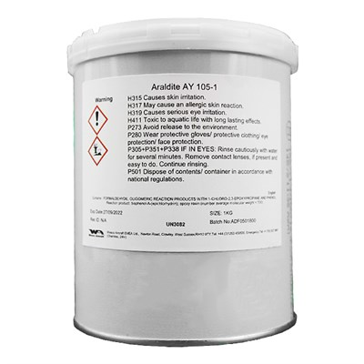 Araldite AY105-1 Epoxy Resin 1Kg