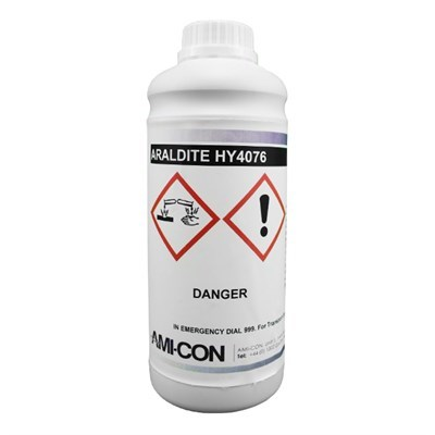 Araldite HY4076 Hardener (For AV4076-1 Adhesive) 1Kg Bottle