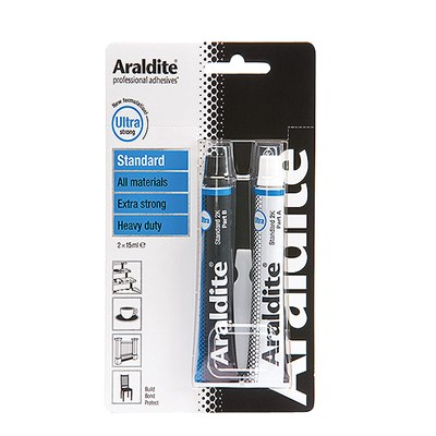 Araldite Standard 30ml (2 x 15ml) Tube Blister Pack