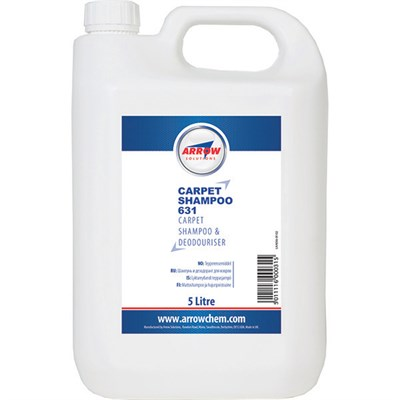 Arrow Carpet Shampoo 631 5Lt Bottle *AMS1631C