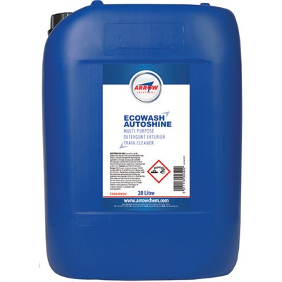 Arrow Ecowash Autoshine Exterior Train Wash 20Lt Drum