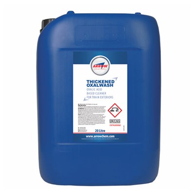 Arrow C976 Thickened Oxalwash Exterior Train Cleaner 20Lt Drum
