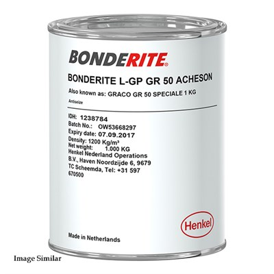Bonderite L-GP GR 50 Assembly Lubricant 1Kg Can (was Acheson Graco)