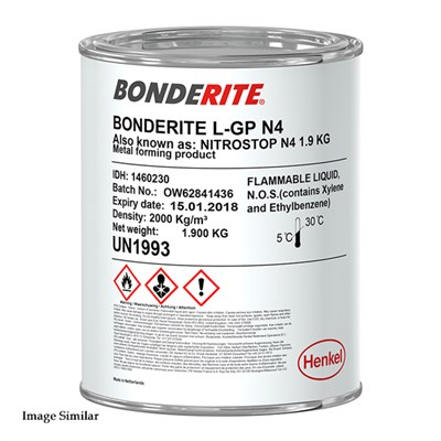 Bonderite L-GP N4 Stopping Off Paint 1.9Kg Can (was Acheson Nitrostop)