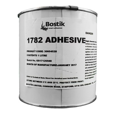 Bostik 1782 Clear General Purpose Adhesive 1Lt Can *AFS 265D