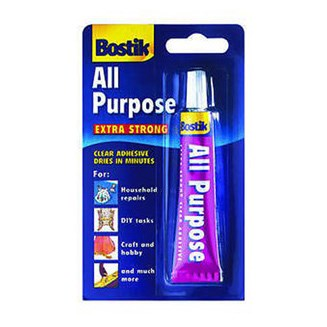 Bostik All Purpose Clear Adhesive 20ml Blister Tube (Box Of 6)