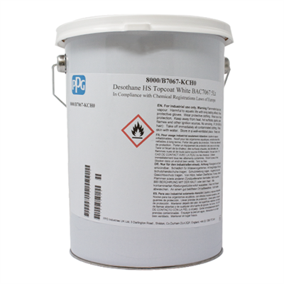PPG CA8000/B7067 White 5Lt Tin