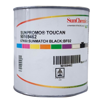 Toucan Black Ink 67-N50 1Kg Can