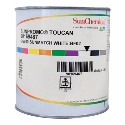 Toucan Sunmatch White Ink 67-W50 1Kg