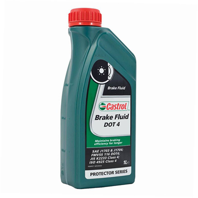 Castrol Brake Fluid DOT 4 1Lt Bottle