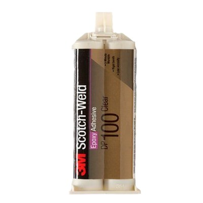 3M Scotch-Weld DP-100 EPX Epoxy Adhesive Clear 50ml Cartridge