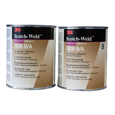 3M Scotch-Weld 7838 B/A Structural Adhesive 2Kg Kit